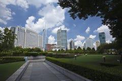 Construction de gouvernement municipal de Changhaï photo stock