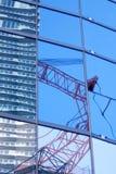 Construction de gratte-ciel Images stock