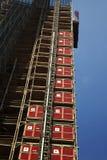 Construction de gratte-ciel Images libres de droits