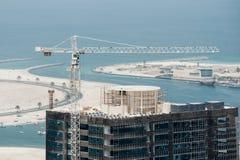 Construction de gratte-ciel Photographie stock libre de droits