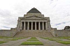 Construction de guerre de souvenir à Melbourne Photo libre de droits