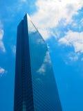 Construction de John Hancock à Boston Etats-Unis Image libre de droits