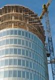 Construction de l'immeuble de bureaux moderne Image libre de droits