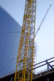 Construction de la grande construction Photos stock