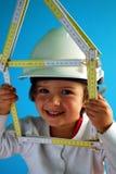 Construction de la maison Image libre de droits