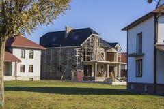 Construction de la maison Images stock