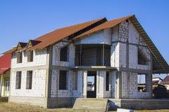 Construction de la maison Photographie stock