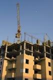 Construction de la maison moderne neuve Photographie stock libre de droits