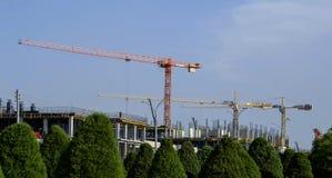 Construction de la construction neuve photos stock