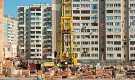 Construction de la prochaine section de la maison Photo libre de droits