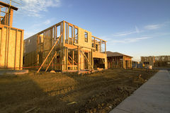 Construction de la subdivision Images stock