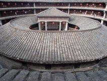 Construction de la terre de Yongding Image stock