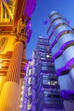 Construction de Lloyds et marché de Leadenhall Photographie stock libre de droits