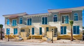 Construction de luxe d'appartement Images stock