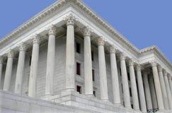 Construction de marbre avec des piliers. Photographie stock libre de droits