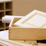 Construction de Module de travail du bois images libres de droits