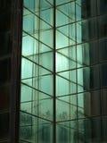 Construction de mur en verre Images libres de droits