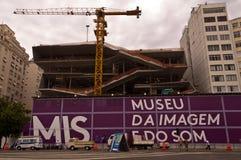 Construction de musée d'image et de bruit Image libre de droits