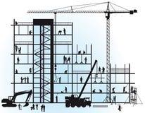 Construction de Ne Image libre de droits