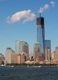 Construction de New York WTC Images libres de droits