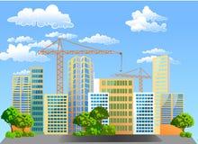 Construction de nouveaux logements. Images stock