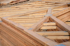Construction de nouvelle maison images stock