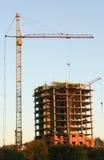 Construction de nouvelles maisons Photographie stock libre de droits