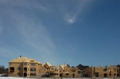 Construction de nouvelles maisons Photos libres de droits
