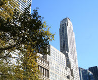 Construction de NYC photo libre de droits