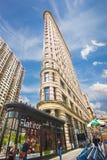 Construction de NYC Flatiron Images libres de droits