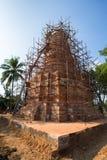 Construction de pagoda dans le nord de la Thaïlande image stock