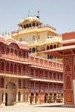 Construction de palais de ville, Jaipur, Inde Photographie stock