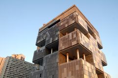 Construction de Petrobras Photographie stock