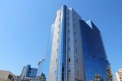 Construction de Petrom, Ploiesti Images libres de droits