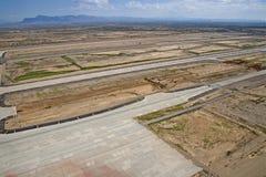 Construction de piste Images stock