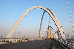 Construction de pont Image stock