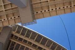 Construction de pont photographie stock libre de droits