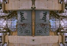 Construction de porte de Marseille Image libre de droits