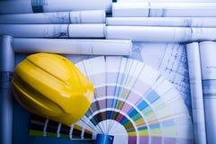 Construction de projet Image stock