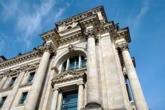 Construction de Reichstag à Berlin, Allemagne Photographie stock