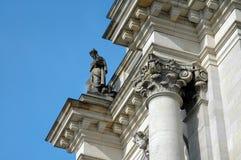 Construction de Reichstag à Berlin, Allemagne Photographie stock libre de droits