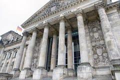 Construction de Reichstag à Berlin, Allemagne photos stock