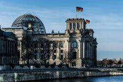 Construction de Reichstag Photographie stock libre de droits