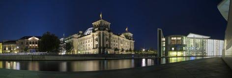 Construction de Reichstag Images libres de droits