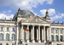 Construction de Reichstag Photos stock