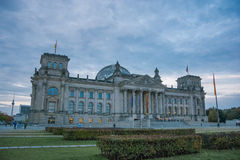 Construction de Reichstag, Berlin Image stock