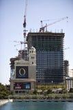 Construction de ressource et d'hôtel, Las Vegas image libre de droits