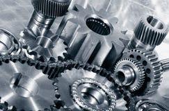 Construction de roues dentées, de vitesses et d'incidences Photos libres de droits