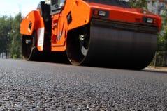 Construction de route photographie stock