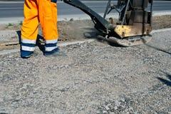 Construction de routes photographie stock